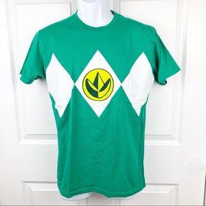 Green Power Ranger Costume Tee Shirt
